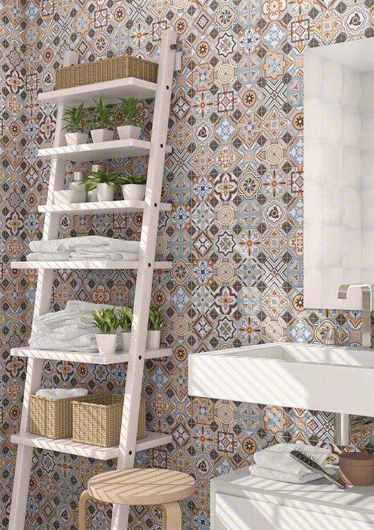 Плитка для ванной комнаты 10х10 см