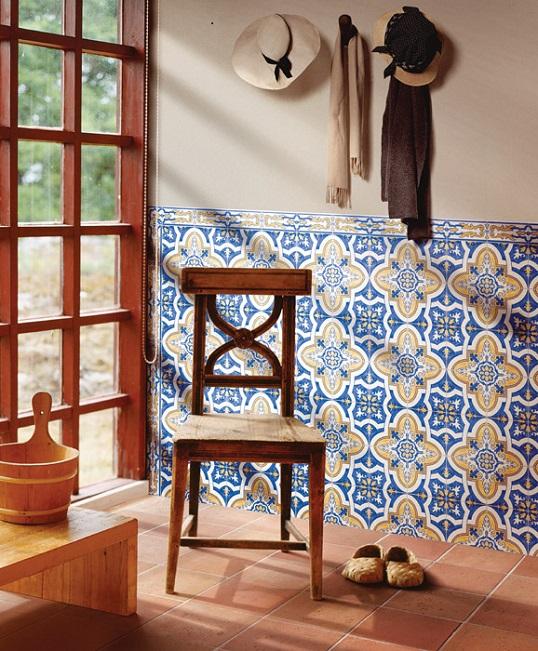 Плитка в мавританском стиле, 15х15 см