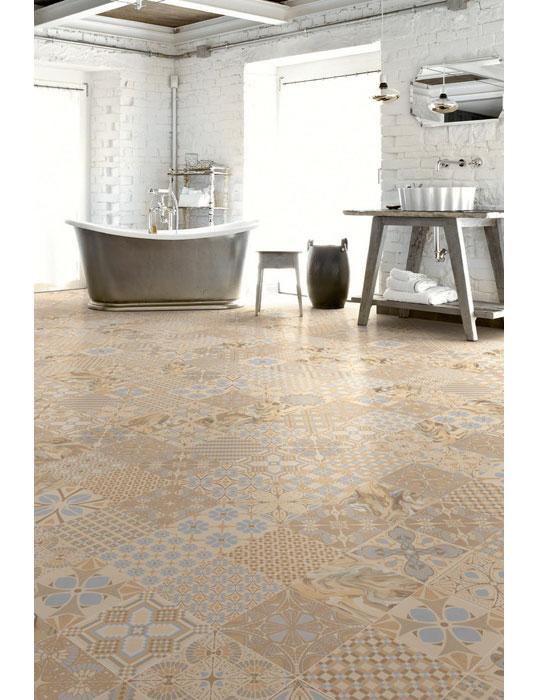 Дизайнерская плитка для ванной размером 20х20 см