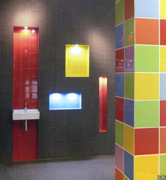 Керамическая плитка 20х20 см для ванной в 54 отенках