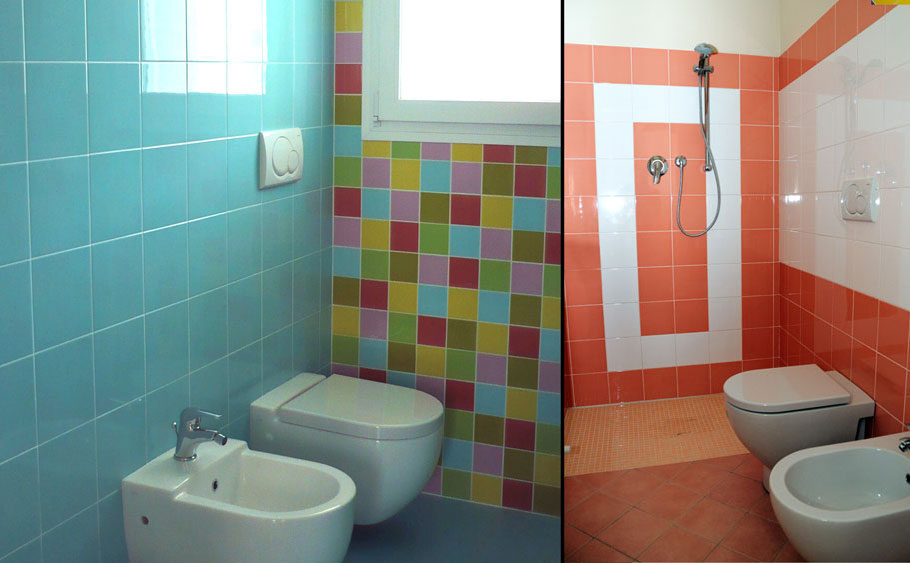 Глянцевая плитка для ванной, 20х20 см, 66 оттенков!