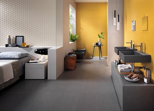 Желтая плитка большого размера для ванной, новинка 2017