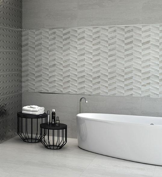 Крупная плитка в стиле LOFT для ванной, новинка 2016