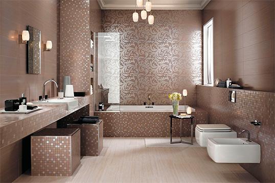 Итальянская плитка для большой ванной