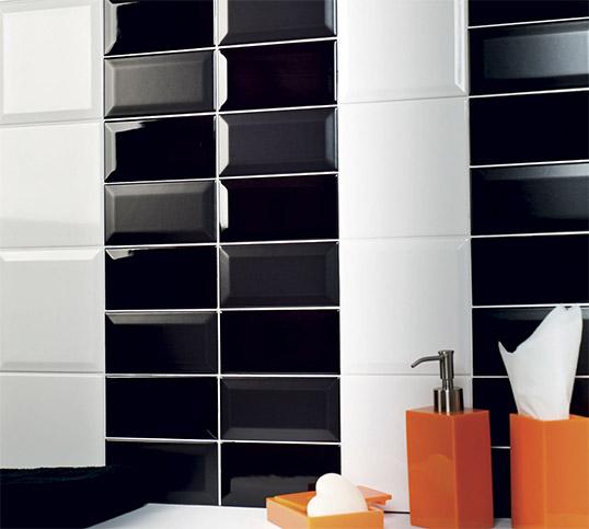 Черная плитка под кирпич 7,5х15 см