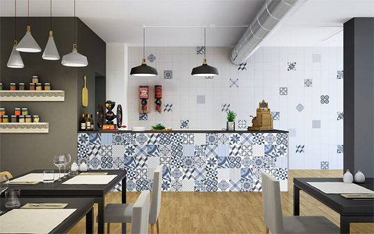 Плитка в стиле пэчворк для кухни и ванной комнаты, популярный выбор