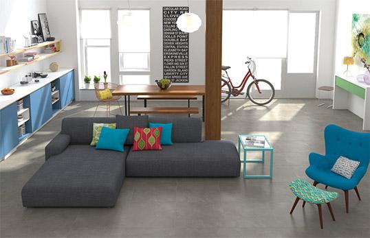 Плитка под бетон для пола и стен