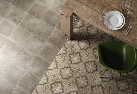 Напольная плитка под цемент