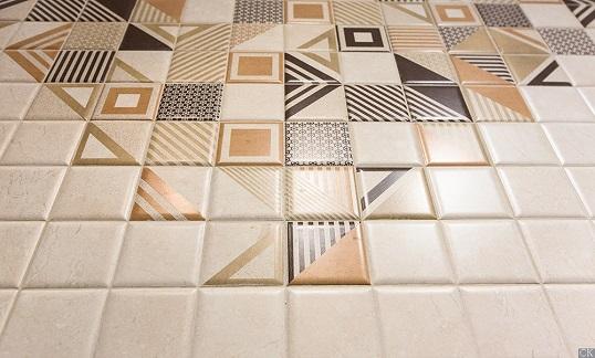 Керамическая плитка под камень для кухни на фартук
