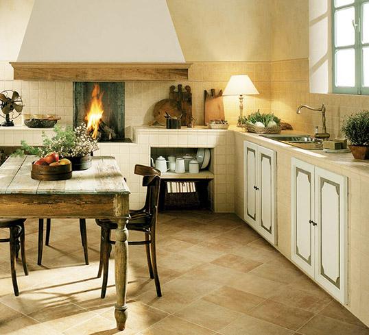Декоративная плитка под камень для кухни