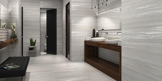 Плитка с имитацией мрамора и травертина для ванной