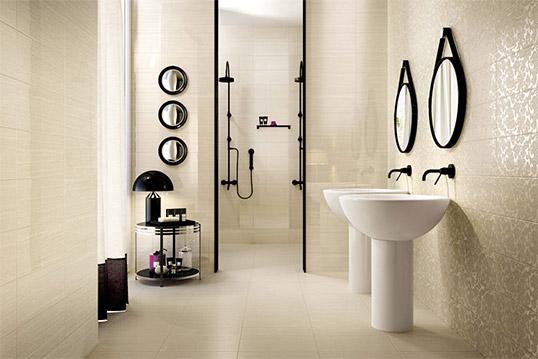 Керамическая плитка под камень для ванной комнаты