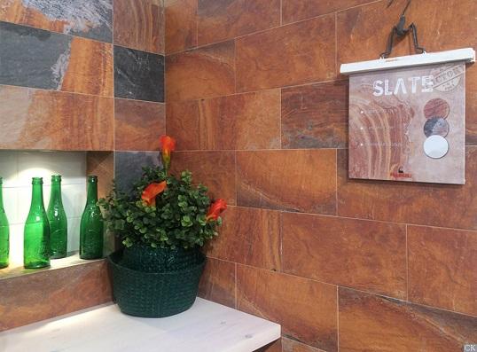 Плитка 15х30 с имитацией горной породы для ванной