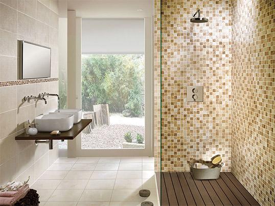 Рельефная плитка под камень для ванной