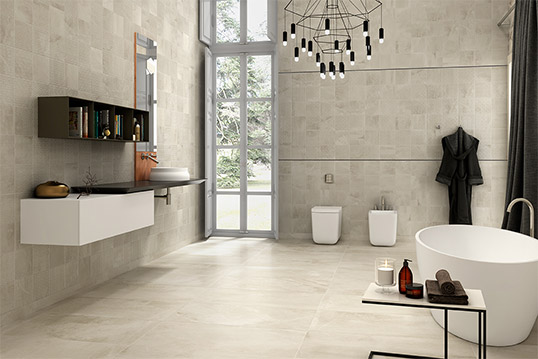 Рельефная плитка 20х20 для ванной комнаты