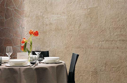 Шершавая плитка под камень для пола и стен