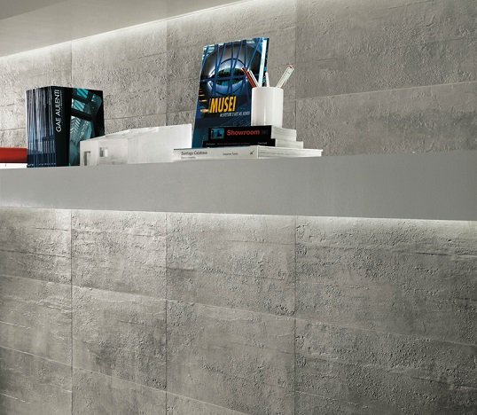 Плитка под бетон для ванной в стиле лофт и индастриал