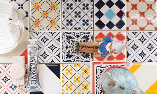Декоры для кухонной плитки в стиле прованс
