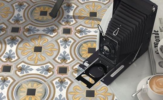 Плитка 20х20 см с восточным дизайном, Испания