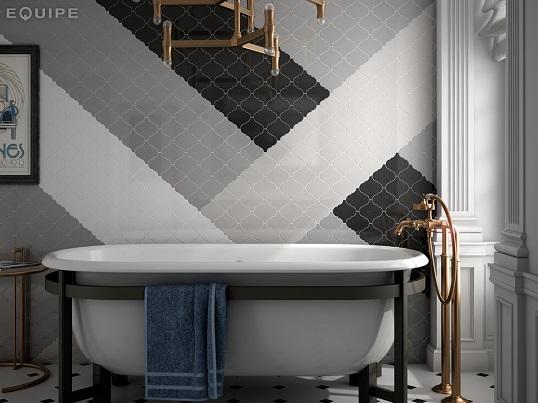 Восточная плитка-четырехлистник для ванной и кухни