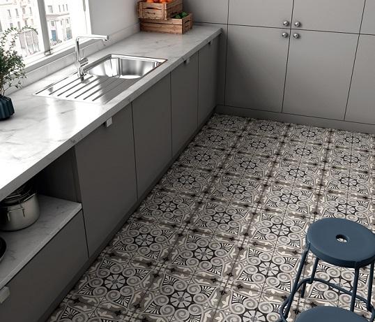 Дизайнерская плитка с восточным орнаментом, новинка 2018