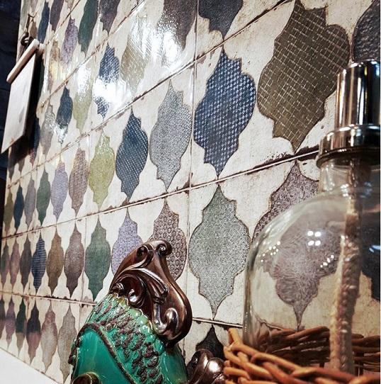 Плитка в восточном стиле со сказочным орнаментом