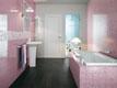 Распродажа керамической плитки для ванной лилового оттенка