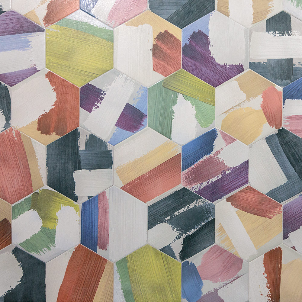 Codicer Rothko – дизайнерские шестиугольники для поклонников современного искусства