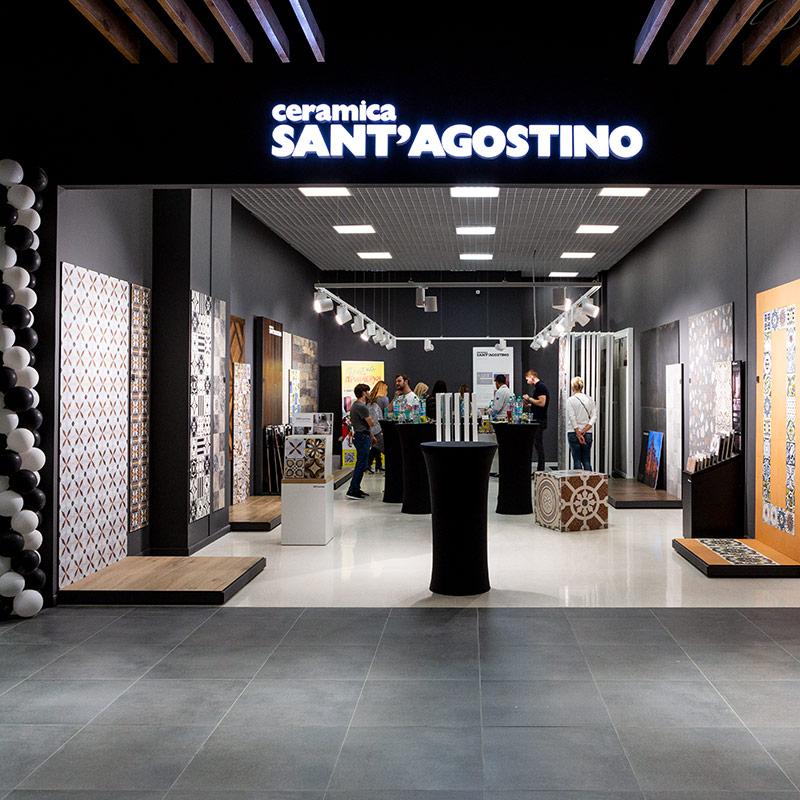 Открытие первого монобрендового магазина Sant' Agostino в России!