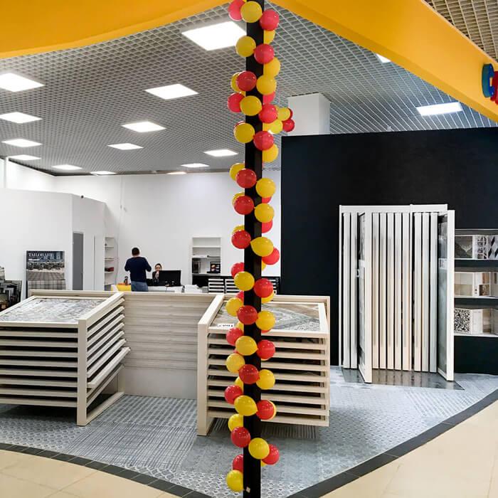 Новый магазин Санта-Керамика в ТЦ Твой Дом Мякинино
