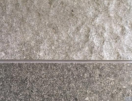 Шершавая плитка под серый сланец