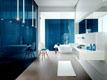 Синяя плитка для ванной
