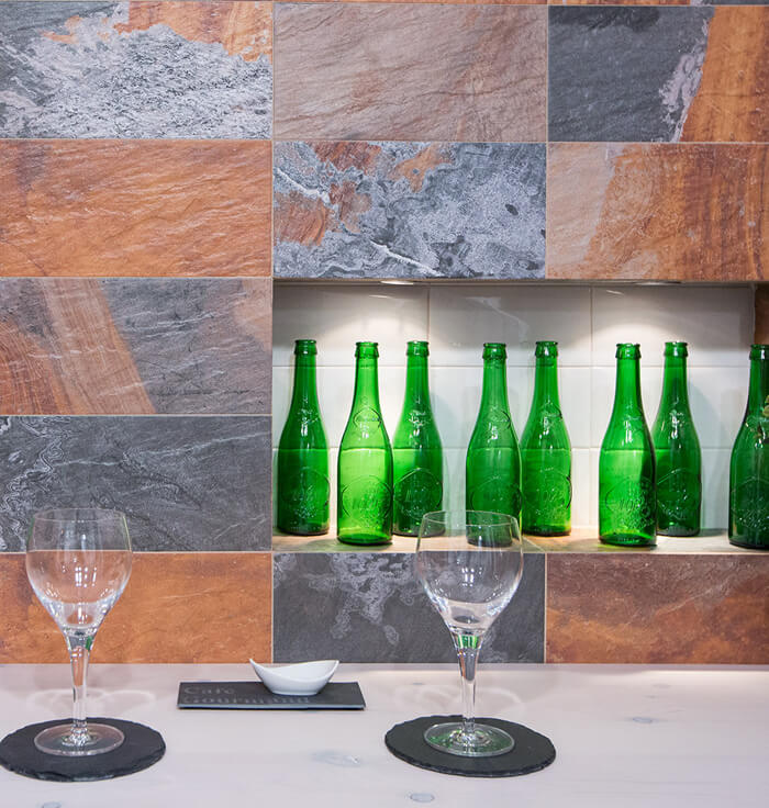Новая коллекция плитки в эко стиле под натуральный сланец