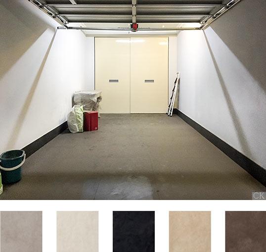Плитка на пол гаража, Россия