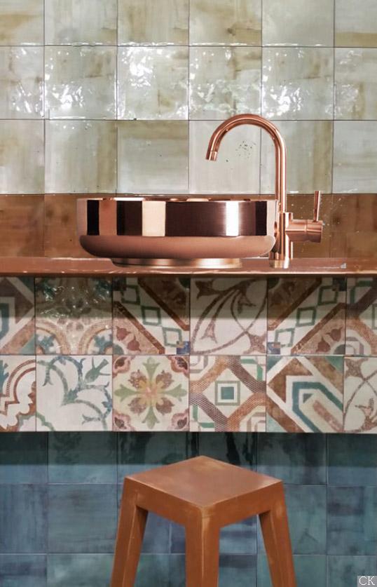 Испанская плитка 20х20 см для ванной