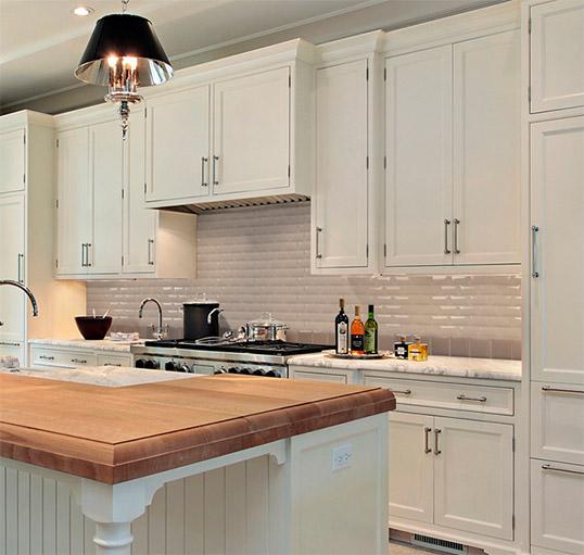 Выпуклая плитка кабанчик для кухни